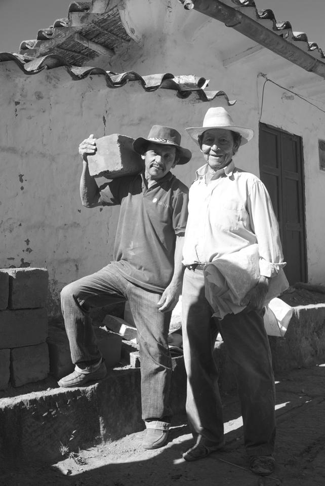 Miguel y don Toño / Fotografía: María Alejandra Holguín